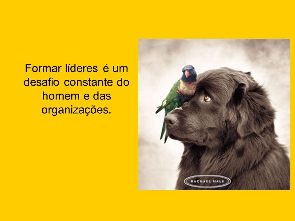 Formar líderes é um desafio constante do homem e das organizações.