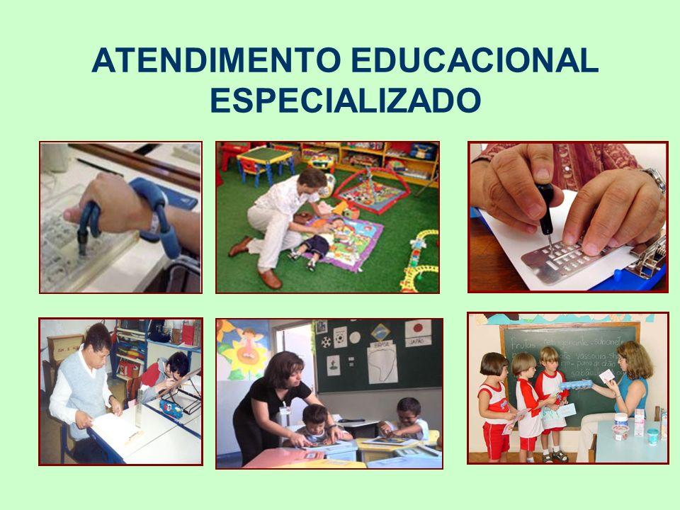 ATENDIMENTO EDUCACIONAL ESPECIALIZADO – AEE Segundo a Política Nacional de Educação Especial, na Perspectiva Inclusiva - SEESP/MEC (2008)