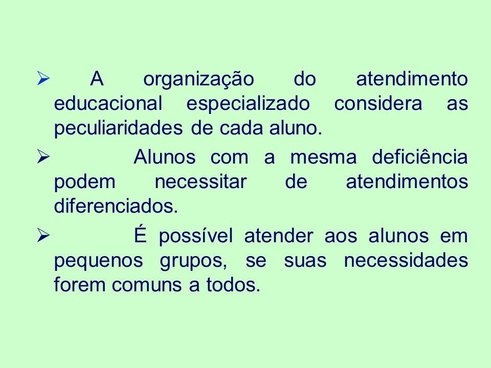 O PROFESSOR DE AEE, NA SALA DE RECURSOS MULTIFUNCIONAIS Foto 1: mostra uma professora ensinando Língua Portuguesa escrita para três crianças com surdez, durante o AEE.