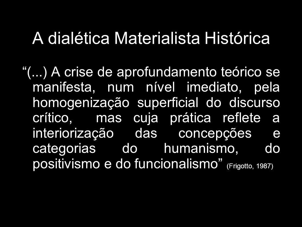 (...) A crise de aprofundamento teórico se manifesta, num nível imediato, pela homogenização superficial do discurso crítico, mas cuja prática reflete