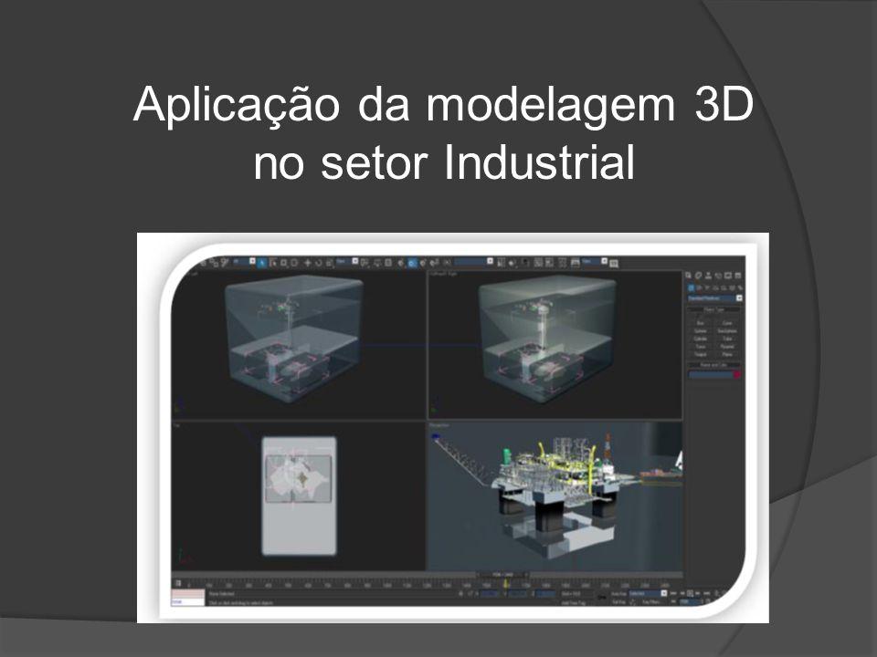Aplicação da modelagem 3D no setor Industrial