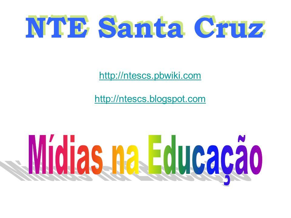 NTE Santa Cruz http://ntescs.pbwiki.com http://ntescs.blogspot.com