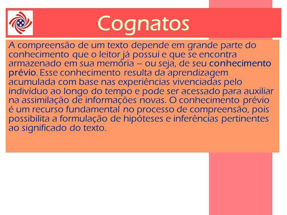 Cognatos Education Theory Principles Pedagogy Language Interactive Vocabulary Strategy Cause and effect Context Interpretation Efficient Recognize Communicative Information Distinguish