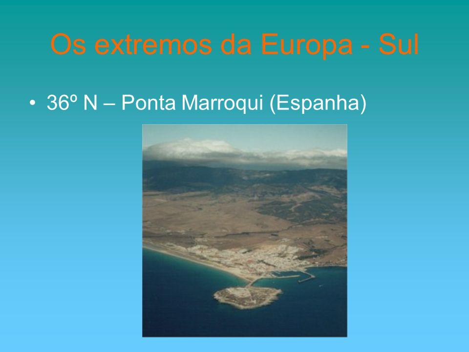 Os extremos da Europa - Sul 36º N – Ponta Marroqui (Espanha)