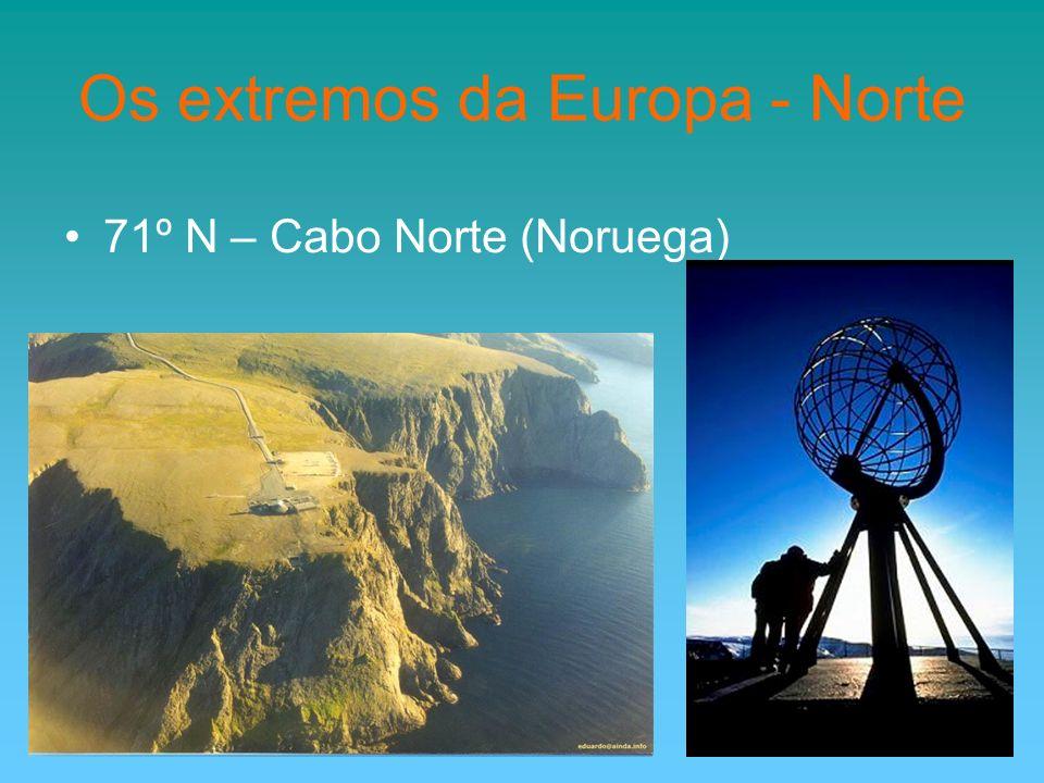 Os extremos da Europa - Norte 71º N – Cabo Norte (Noruega)