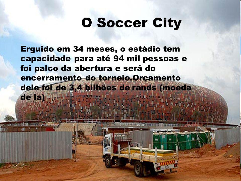 Erguido em 34 meses, o estádio tem capacidade para até 94 mil pessoas e foi palco da abertura e será do encerramento do torneio.Orçamento dele foi de