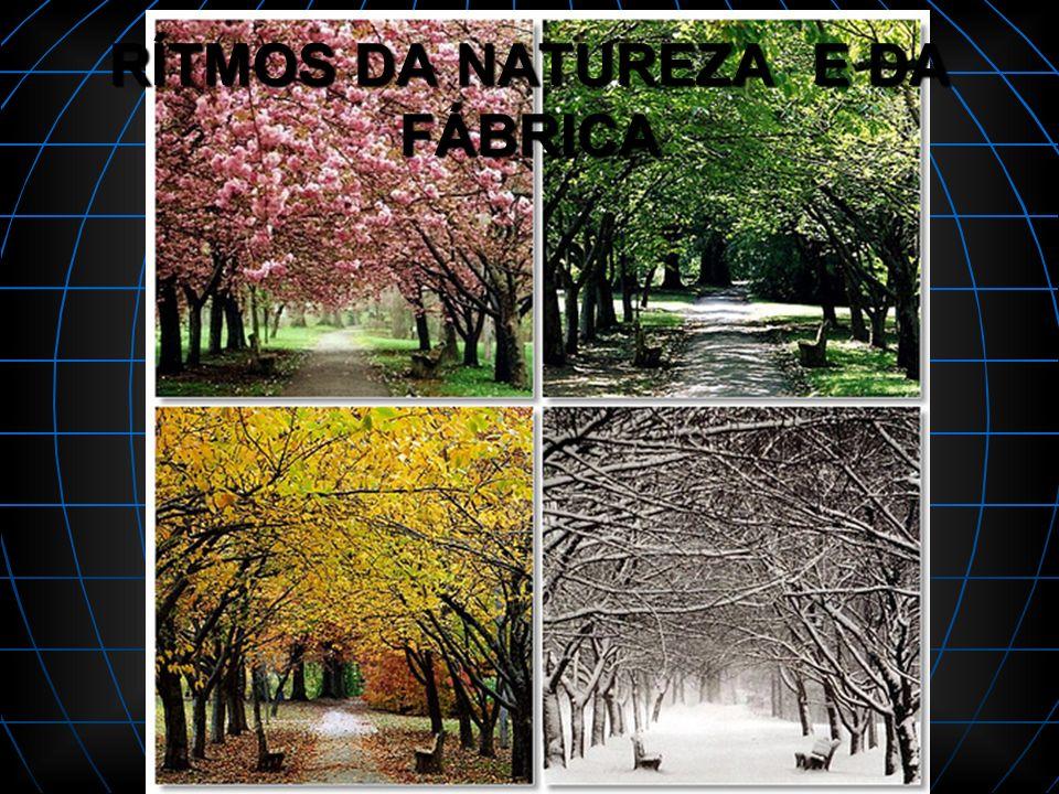 RÍTMOS DA NATUREZA E DA FÁBRICA