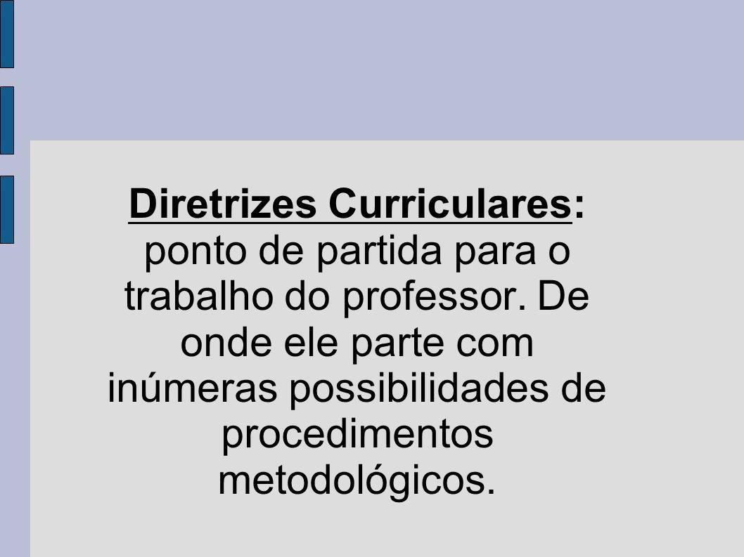 CADERNO DE EXPECTATIVAS: PONTO DE CHEGADA DO TRABALHO DO PROFESSOR.