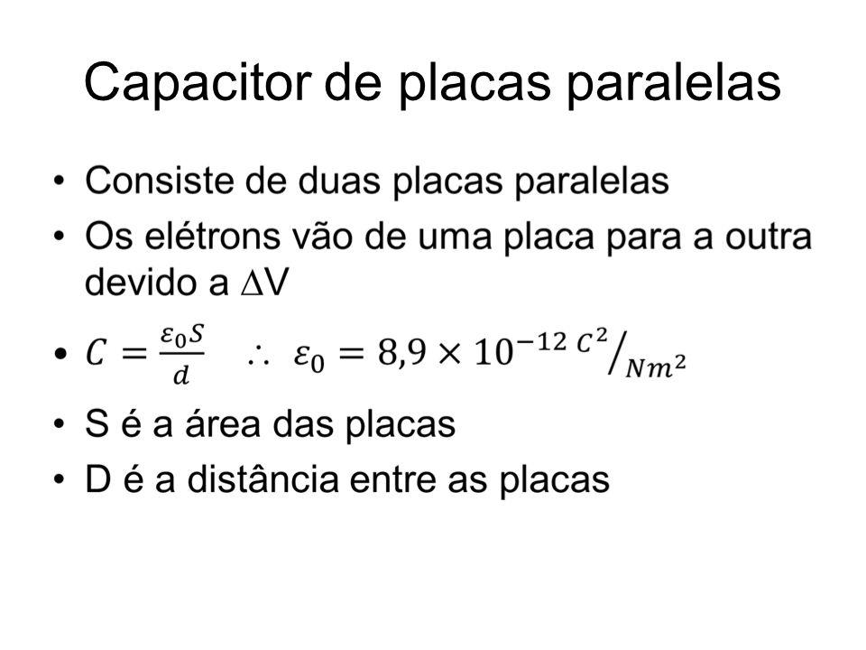 A capacidade de um capacitor aumenta quando um dielétrico é inserido preenchendo todo o espaço entre suas armaduras.