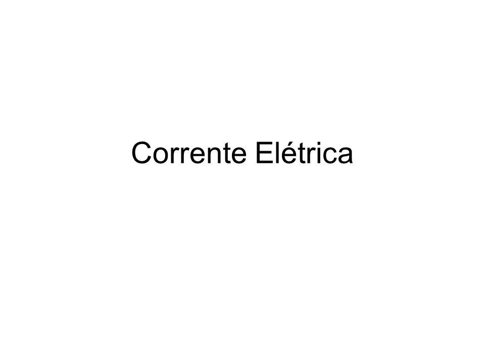 Corrente elétrica i=Δq/Δt