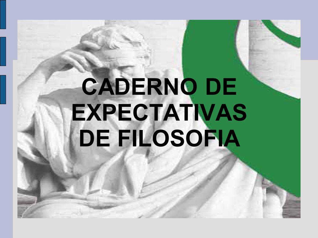 CADERNO DE EXPECTATIVAS DE FILOSOFIA