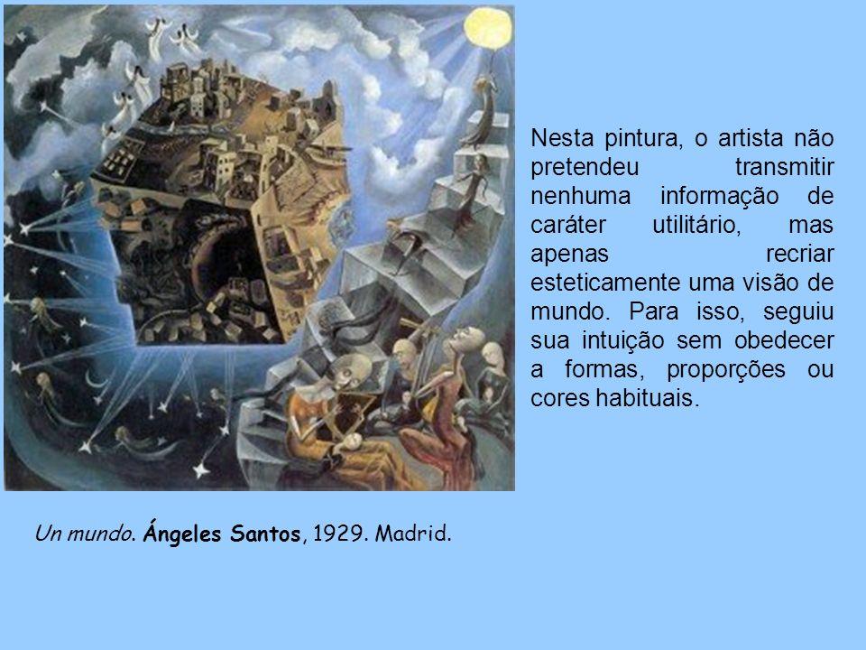 Un mundo.Ángeles Santos, 1929. Madrid.