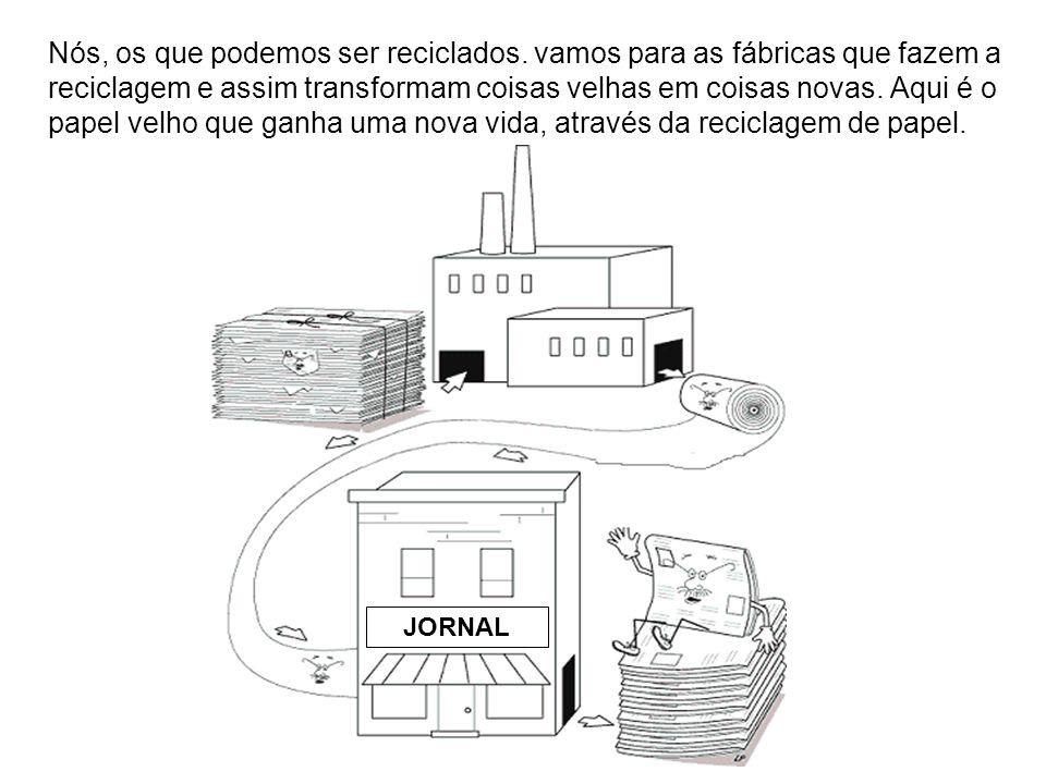 Aqui, o plástico foi transformado em novos artigos numa fábrica de reciclagem de plástico.