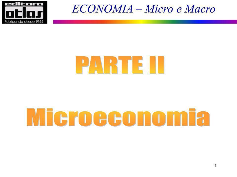 ECONOMIA – Micro e Macro 32 Curva de Demanda de Mercado de um Bem ou Serviço 0 150 300 450 600 Preço do Bem R$) Total do Mercado 80 60 40 20 Análise da Demanda de Mercado