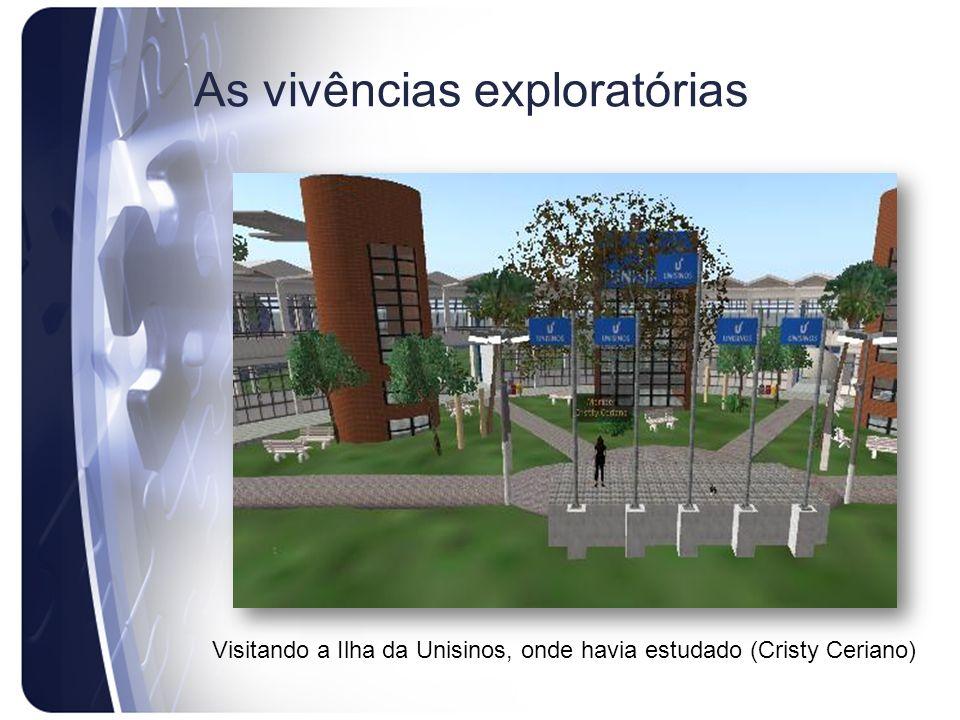 As vivências exploratórias Visitando a Ilha da Unisinos, onde havia estudado (Cristy Ceriano)