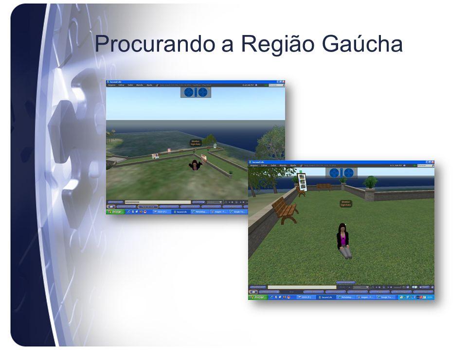 Procurando a Região Gaúcha