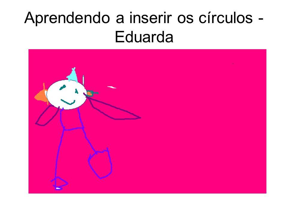 Aprendendo a inserir os círculos - Marcos