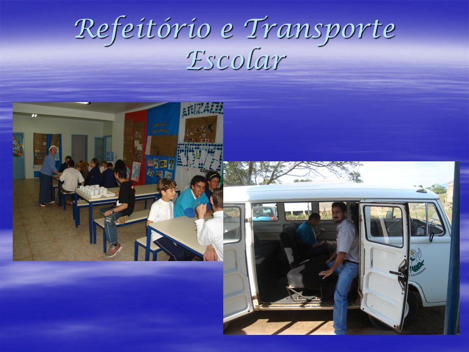 Refeitório e Transporte Escolar