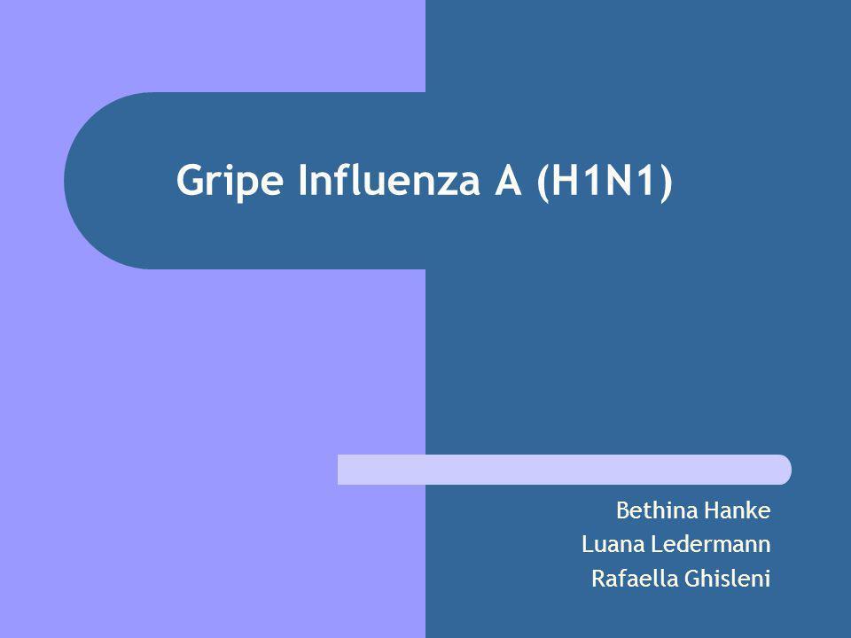 Gripe Influenza A (H1N1) Bethina Hanke Luana Ledermann Rafaella Ghisleni