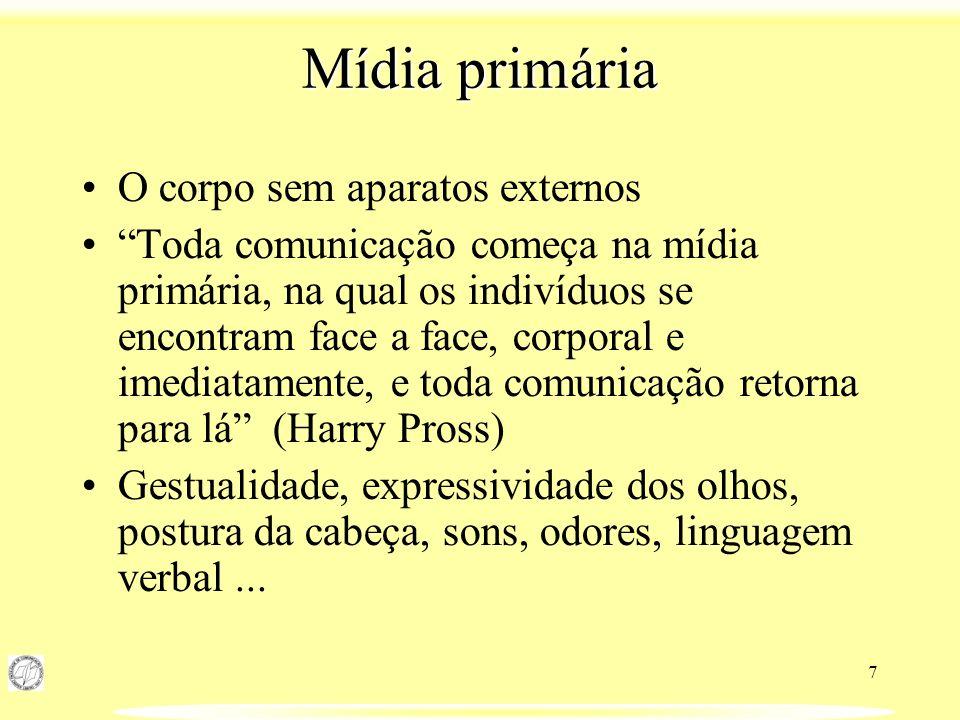 18 Referências bibliográficas PROSS, Harry e ROMANO, Vicente.