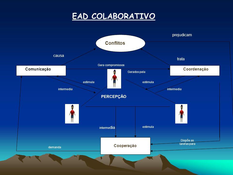 FERRAMENTAS DE EAD As ferramentas de EAD são adotadas com o objetivo de facilitar o processo de ensino-aprendizagem e estimular a colaboração e interação entre os participantes de um curso a distância baseado na Web.