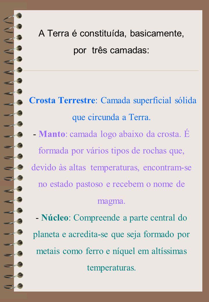 Fonte: http://www.fortunecity.es/expertos/profesor/171/suelos.html Alguns exemplos de Rochas Magmáticas ou Igneas