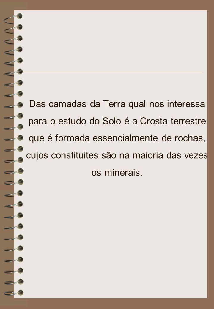 Alguns exemplos de Rochas Metamórficas Fonte: http://www.fortunecity.es/expertos/profesor/171/suelos.html