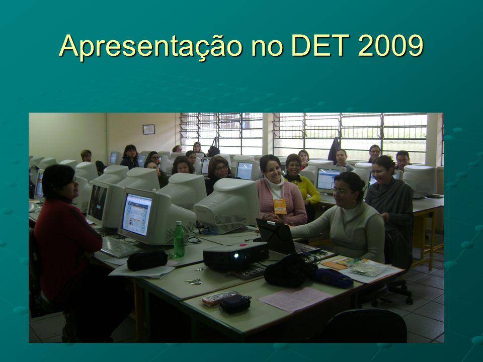 Apresentação no DET 2009