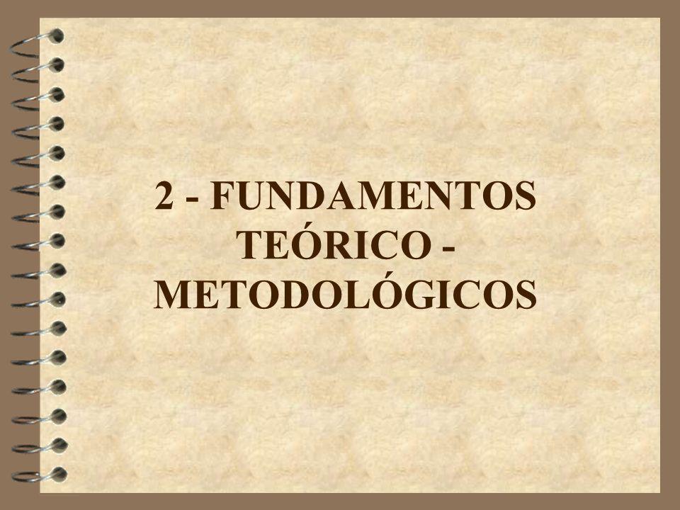 2 - FUNDAMENTOS TEÓRICO - METODOLÓGICOS