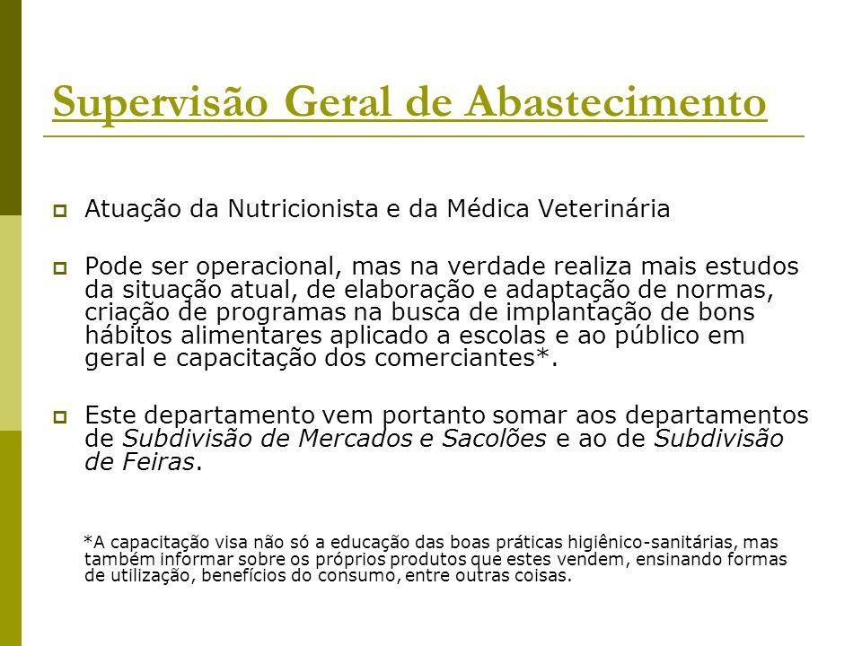 Atuação da Nutricionista e da Médica Veterinária Pode ser operacional, mas na verdade realiza mais estudos da situação atual, de elaboração e adaptaçã