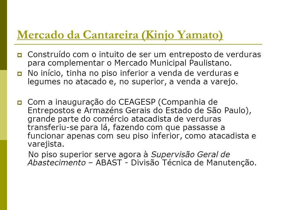 Mercados Municipais Supervisão de Mercados e Frigoríficos Municipais, unidade da Supervisão Geral de Abastecimento - Abast - da Secretaria Municipal de Coordenação das Subprefeituras, responde por todos Mercados Municipais de São Paulo.