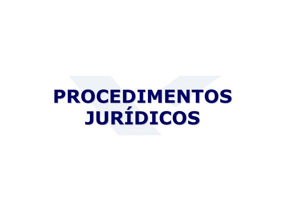PROCEDIMENTOS JURÍDICOS