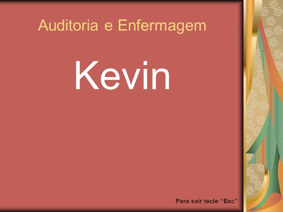 Para sair tecle Esc Auditoria e Enfermagem Kevin