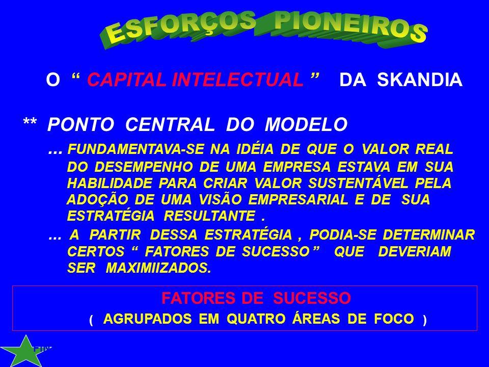 TOM STEWART - 1994 / REVISTA FORTUNE ** O ATIVO MAIS VALIOSO DE SUA EMPRESA : O CAPITAL INTELECTUAL...