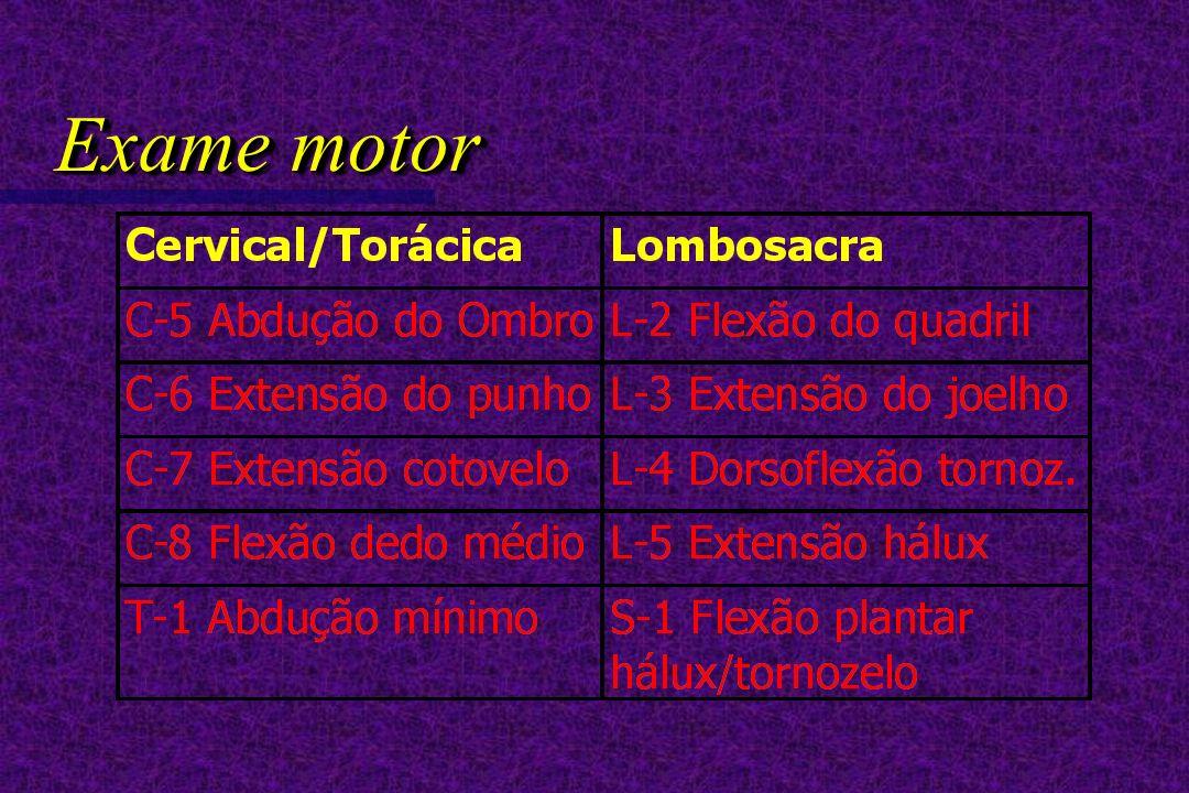 Exame motor