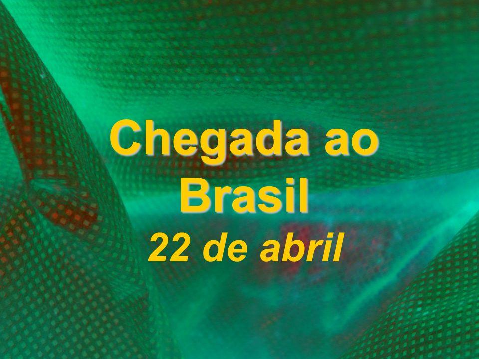Chegada ao Brasil Chegada ao Brasil 22 de abril