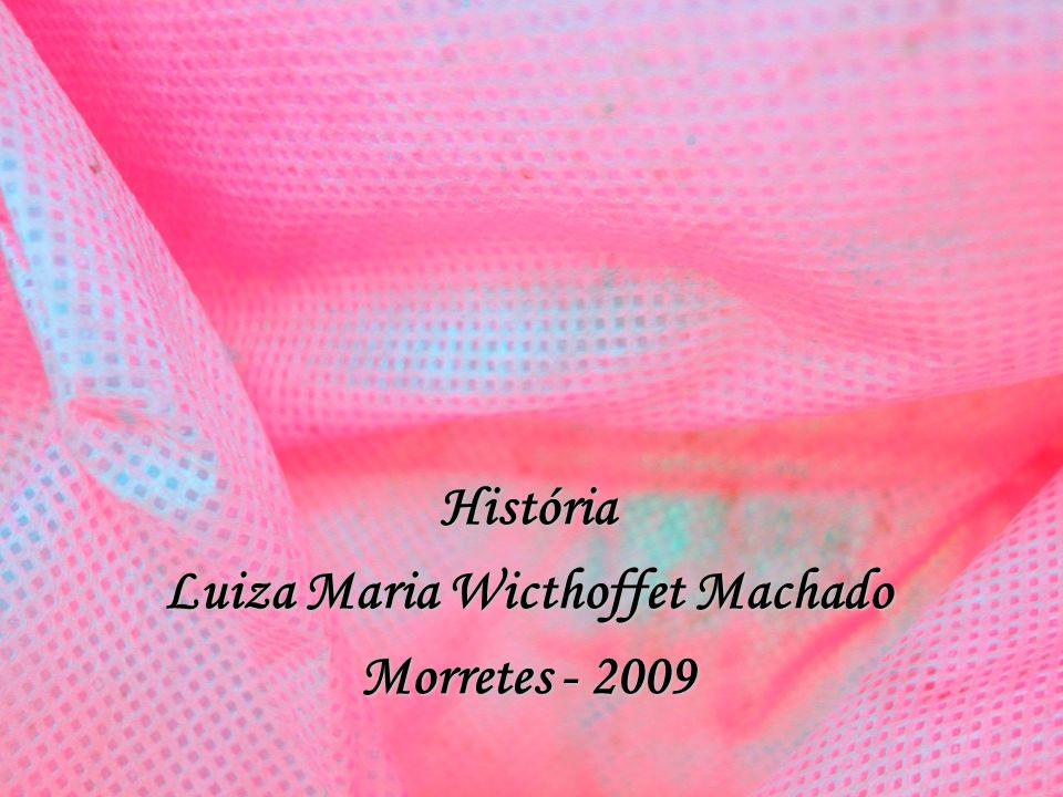 História Luiza Maria Wicthoffet Machado Morretes - 2009