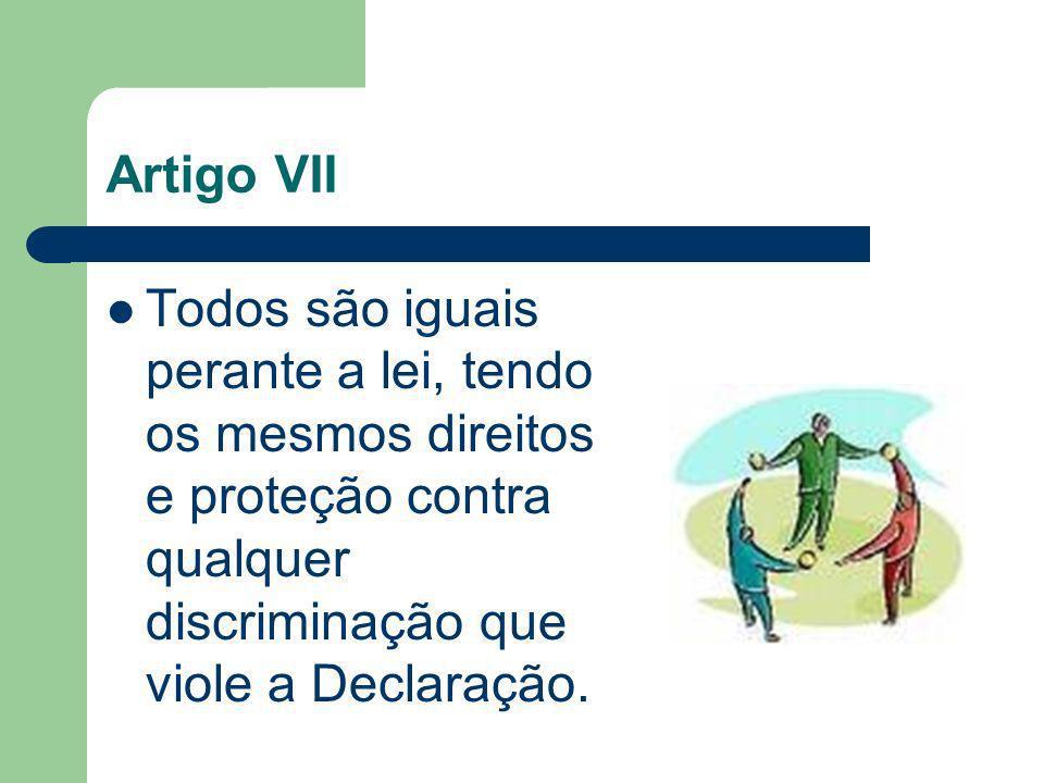 Artigo VIII Todos tem o dever de pagar qualquer violação aos direitos fundamentais perante a Constituição ou a lei, ao limite que lhes for imposto pelos tributos nacionais.