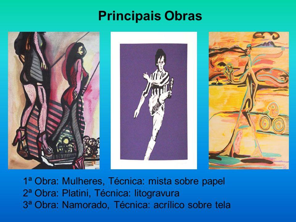 Escola Estética – Rubens Gerchman Modernista e ativista Também em 1965 participou de Opinião 65 no Museu de Arte Moderna do Rio de Janeiro, tornando-se desde logo um dos principais representantes da vanguarda carioca - posição que sua presença em futuras coletivas de vanguarda, como: Pare.