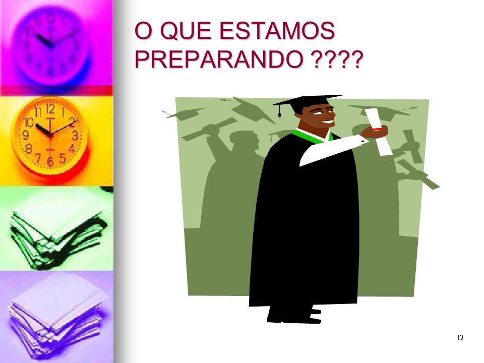 13 O QUE ESTAMOS PREPARANDO ????