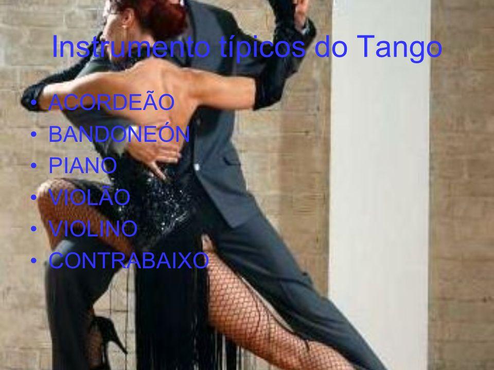 Instrumento típicos do Tango ACORDEÃO BANDONEÓN PIANO VIOLÃO VIOLINO CONTRABAIXO