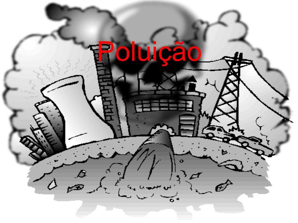 Perguntas 1 - De que maneira a poluição pode levar ao fim do mundo.