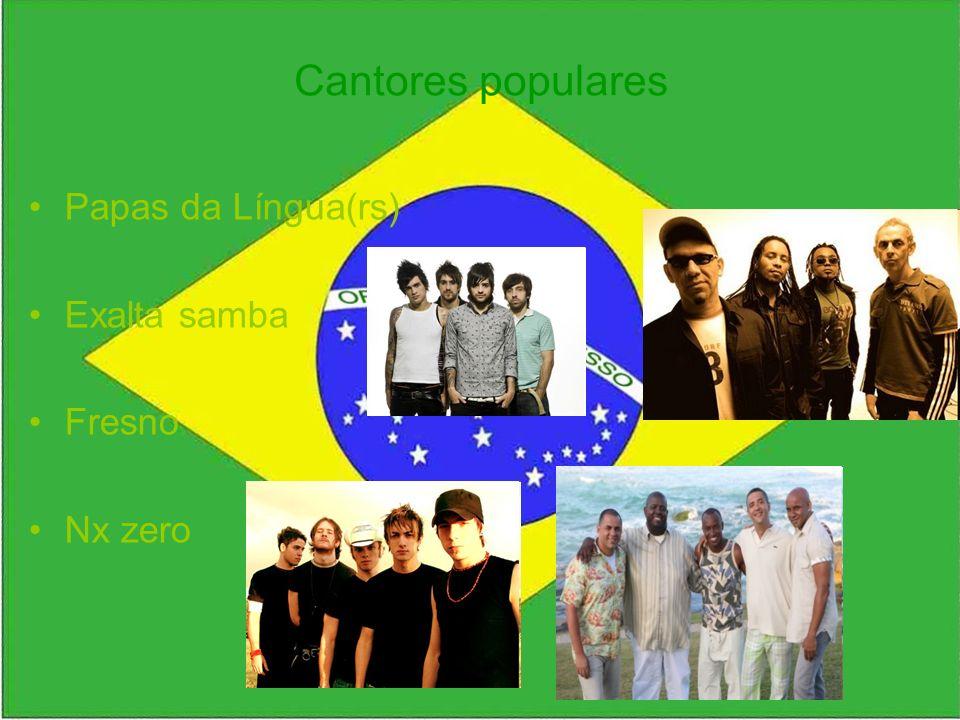 Cantores populares Papas da Língua(rs) Exalta samba Fresno Nx zero