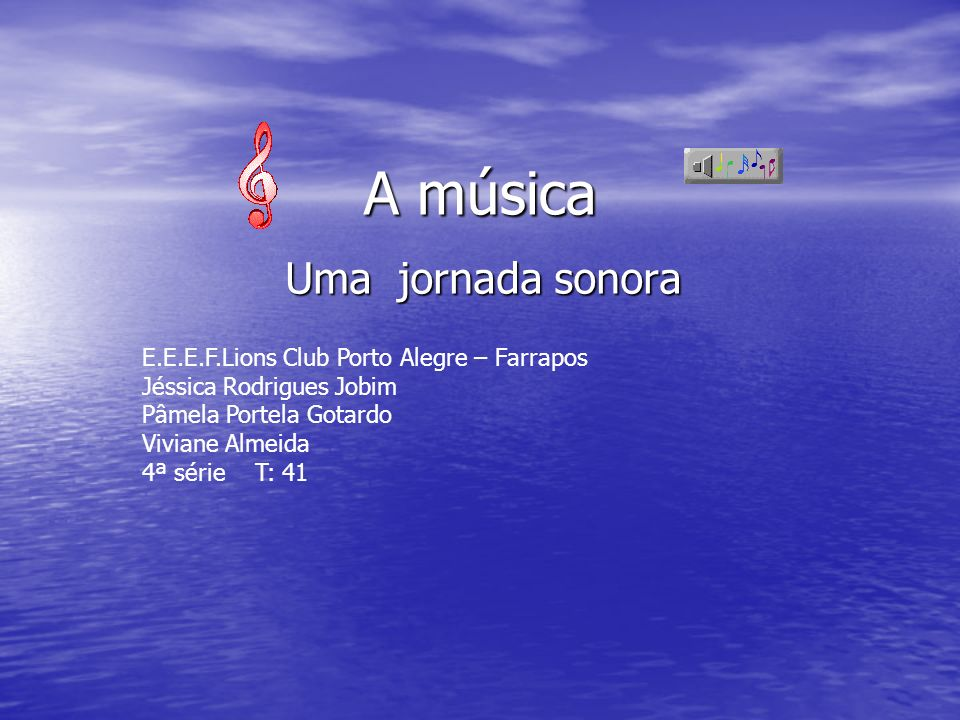 A música é feita de sons tradicionalmente descritos segundo quatro parâmetros.