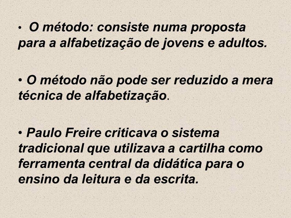 Método: Paulo Freire