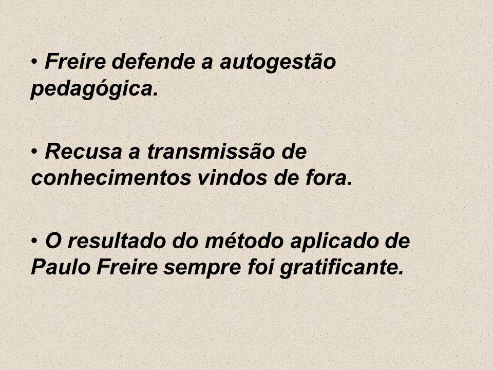 5ª fase: Criação de fichas de palavras para a decomposição das famílias fonéticas correspondentes às palavras geradoras. Para Paulo Freire, alfabetiza