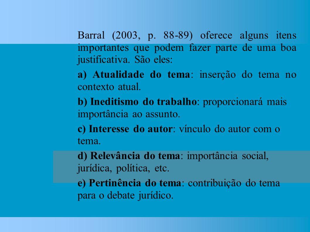 Barral (2003, p.