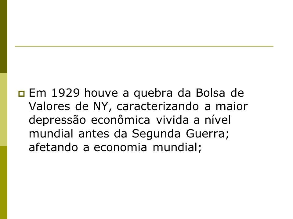 Dessa luta política entre as classes oligárquicas e as classes intelectuais militares e da burguesia industrial e comercial surge a Revolução de Trinta, e também aparece o primeiro grande Estadista Brasileiro, Getúlio Vargas;