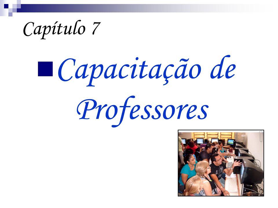 Capítulo 7 Capacitação de Professores