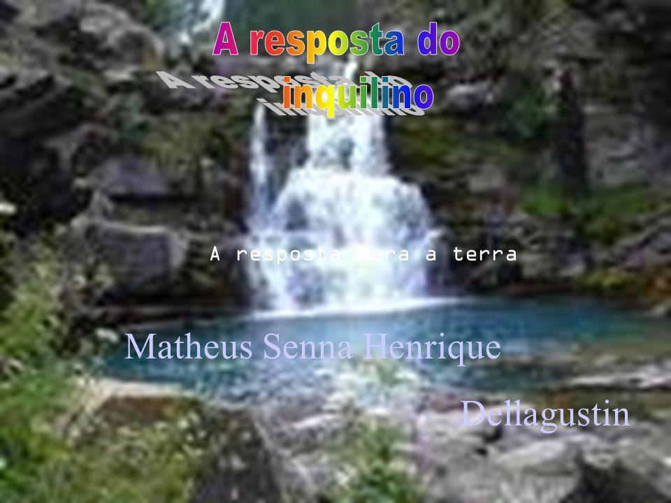 A resposta para a terra Matheus Senna Henrique Dellagustin
